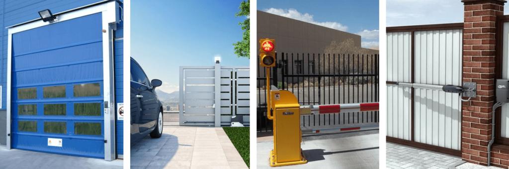 автоматические ворота и шлагбаумы