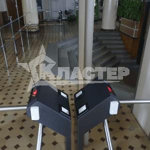 Установка считывателей Qr кода Gate в турникеты perco