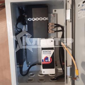 Компоновка телекоммуникационного шкафа системы ip видеонаблюдения