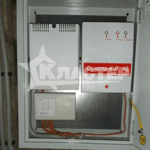 Монтаж системы пожарной сигнализации и оповещения при пожаре