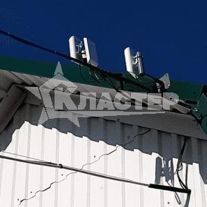 Установка точек доступа для организации беспроводного моста между сегментами системы видеонаблюдения