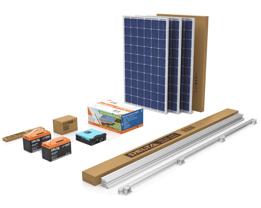 солнечная электростанция eco3 Тамбов